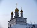 5 января 2019 г., в неделю перед Рождеством Христовым, святых отец, епископ Силуан совершил вечернее богослужение в Макарьевском монастыре