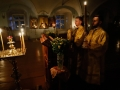 6 февраля 2021 г., в неделю 35-ю по Пятидесятнице, епископ Силуан совершил вечернее богослужение в Макарьевском монастыре