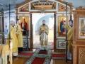 7 февраля 2021 г., в неделю 35-ю по Пятидесятнице, епископ Силуан совершил литургию в Макарьевском монастыре