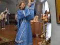8 сентября 2019 г., в  в неделю 12-ю по Пятидесятнице, епископ Силуан совершил литургию в Макарьевском монастыре