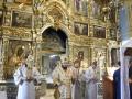 8 июня 2019 г., в неделю 7-ю по Пасхе, епископ Силуан совершил вечернее богослужение в городе Лысково