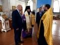 10 февраля 2019 г. епископ Силуан совершил молебен в Никольском храме села Починки