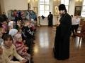 10 ноября 2019 г. епископ Силуан встретился с детьми в селе Вад