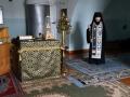 11 марта 2019 г. епископ Силуан совершил утреннее богослужение в Макарьевском монастыре