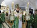 12 апреля 2020 г., в праздник Входа Господня в Иерусалим, епископ Силуан совершил литургию в Макарьевском монастыре