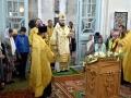 11 июля 2019 г., в день памяти апостолов Петра и Павла, епископ Силуан совершил вечернее богослужение в селе Белозериха