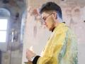 11 июля 2020 г., в неделю 5-ю по Пятидесятнице и день памяти апостолов Петра и Павла, епископ Силуан совершил вечернее богослужение в Макарьевском монастыре