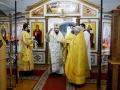 11 октября 2020 г., в неделю 18-ю по Пятидесятнице, епископ Силуан совершил литургию в Макарьевском монастыре