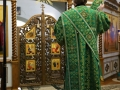 11 апреля 2020 г., в неделю Ваий, епископ Силуан совершил вечернее богослужение в Макарьевском монастыре