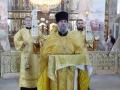 12 июля 2020 г., в неделю 5-ю по Пятидесятнице и день памяти апостолов Петра и Павла, епископ Силуан совершил литургию в Макарьевском монастыре