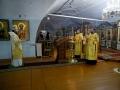 12 декабря 2020 г., в неделю 27-ю по Пятидесятнице, епископ Силуан совершил вечернее богослужение в Макарьевском монастыре