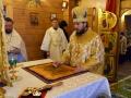 13 января 2019 г. епископ Силуан совершил литургию в Троицком храме села Бармино