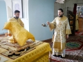 13 сентября 2020 г., в неделю 14-ю по Пятидесятнице, епископ Силуан совершил литургию в Макарьевском монастыре