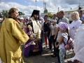 14 июля 2019 г. епископ Силуан благословил молодежь на велопробег в честь преподобного Макария Желтоводского в селе Вад