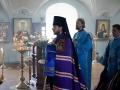 14 октября 2020 г., в праздник Покрова Божией Матери, епископ Силуан совершил литургию в Макарьевском монастыре