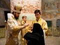 15 августа 2020 г., в неделю 10-ю по Пятидесятнице, епископ Силуан совершил вечернее богослужение в Макарьевском монастыре