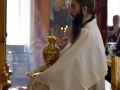 15 сентября 2019 г., в неделю 13-ю по Пятидесятнице, епископ Силуан совершил литургию в поселке Шатки