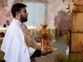 16 августа 2020 г., в неделю 10-ю по Пятидесятнице, епископ Силуан совершил литургию в Макарьевском монастыре