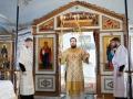 17 января 2021 г., в неделю перед Богоявлением, епископ Силуан совершил литургию в Макарьевском монастыре