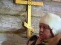 17 марта 2019 г. епископ Силуан совершил молебен в строящемся храме в селе Воскресенское