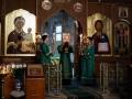 17 июля 2020 г., в день памяти преподобного Сергия Радонежского, епископ Силуан совершил вечернее богослужение в Макарьевском монастыре