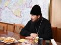 18 января 2019 г. епископ Силуан встретился с главой администрации Лукояновского района Михаилом Ермаковым