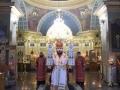 18 мая 2019 г., в неделю 4-ю по Пасхе, епископ Силуан совершил вечернее богослужение в Макарьевском монастыре