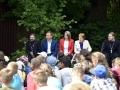 """18 июля 2019 г. епископ Силуан посетил детский лагерь """"Надежда"""""""