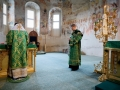 18 июля 2020 г., в день памяти преподобного Сергия Радонежского, епископ Силуан совершил литургию в Макарьевском монастыре