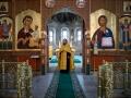 18 июля 2020 г., в неделю 6-ю по Пятидесятнице, епископ Силуан совершил вечернее богослужение в Макарьевском монастыре