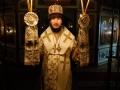 18 декабря 2020 г., в день памяти святителя Николая Чудотворца, епископ Силуан совершил вечернее богослужение в Макарьевском монастыре