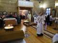 19 января 2020 г., в праздник Крещения Господня, епископ Силуан совершил литургию в селе Николай Дар