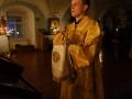 19 декабря 2020 г., в неделю 28-ю по Пятидесятнице, епископ Силуан совершил вечернее богослужение в Макарьевском монастыре