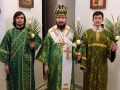 20 апреля 2019 г, в неделю Ваий, епископ Силуан совершил вечернее богослужение в Большом Болдине