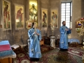 20 сентября 2019 г., в праздник Рождества Божией Матери, епископ Силуан совершил вечернее богослужение в городе Княгинино