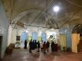 19 октября 2019 г. епископ Силуан осмотрел восстанавливающийся храм в селе Курмыш