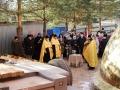 20 ноября 2020 г. в селе Трофимове установили купол и крест на строящийся храм