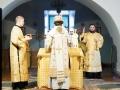 20 декабря 2020 г., в неделю 28-ю по Пятидесятнице, епископ Силуан совершил литургию в Макарьевском монастыре