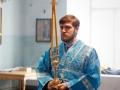 21 февраля 2021 г., в неделю о мытаре и фарисее, епископ Силуан совершил литургию в Макарьевском монастыре