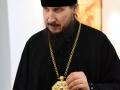 21 апреля 2019 г. епископ Силуан посетил выставку работ Степана Короткова в Большом Болдине