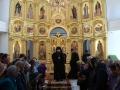 21 апреля 2019 г., в неделю ваий, епископ Силуан совершил литургию в Большом Болдине