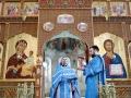 21 июля 2020 г., в день воспоминания обретения Казанской иконы Божией Матери, епископ Силуан совершил литургию в Макарьевском монастыре