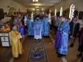 22 сентября 2019 г., в неделю 14-ю по Пятидесятнице, епископ Силуан совершил литургию в селе Спасском