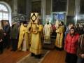 22 декабря 2019 г., в неделю 27-ю по Пятидесятнице, епископ Силуан совершил литургию в городе Лысково