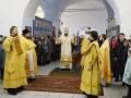 23 февраля 2020 г., в неделю о Страшном Суде, епископ Силуан совершил литургию в Сергаче