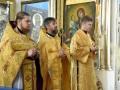 23 июня 2019 г., в неделю всех святых, епископ Силуан совершил литургию в селе Красный Бор