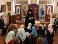 24 марта 2019 г. епископ Силуан встретился с детьми в Воротынце