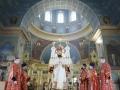24 мая 2020 г., в неделю 6-ю по Пасхе, епископ Силуан совершил литургию в Макарьевском монастыре