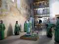 24 июля 2021 г., в неделю 5-ю по Пятидесятнице и день памяти преподобного Михаила Малеина, епископ Силуан совершил вечернее богослужение в Макарьевском монастыре
