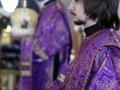 25 апреля 2019 г., в Великий Четверг, епископ Силуан совершил вечерню с литургией в Макарьевском монастыре